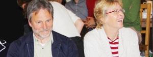Dr. Eugen Briemle mit seiner Frau während der Regionalversammlung des Regnum Christi 2014 in Düsseldorf