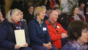 Treffen der Mitglieder des Regnum Christi aus Österreich und Deutschland in Otzing (Bayern) zur RC-MEET im Frühjahr 2015