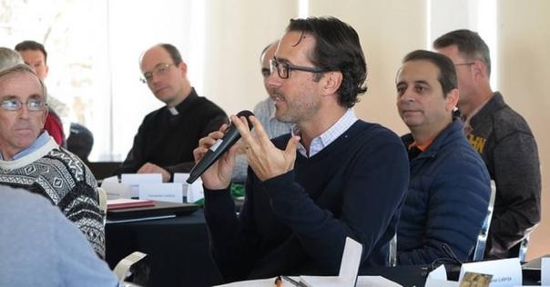 2018-01, José Antonio Lebrija, miembro de la Convención Internacional de los laicos del RC