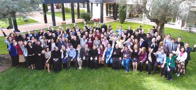 2018-04-19, Abschluss-Gruppenfoto von der Generalversammlung in Rom