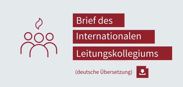 2019-09-19, Grafik, Brief des Internationalen Leitungskollegiums